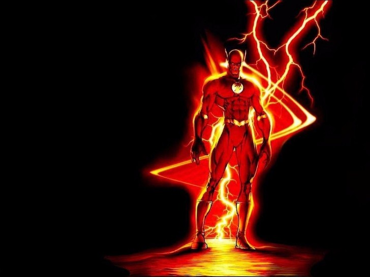flash with a super power