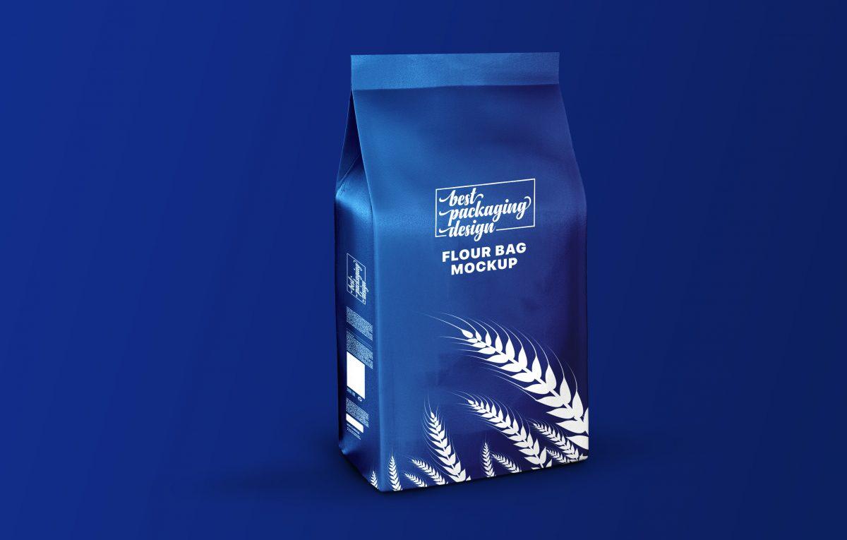 Flour Bag Photoshop Mockup