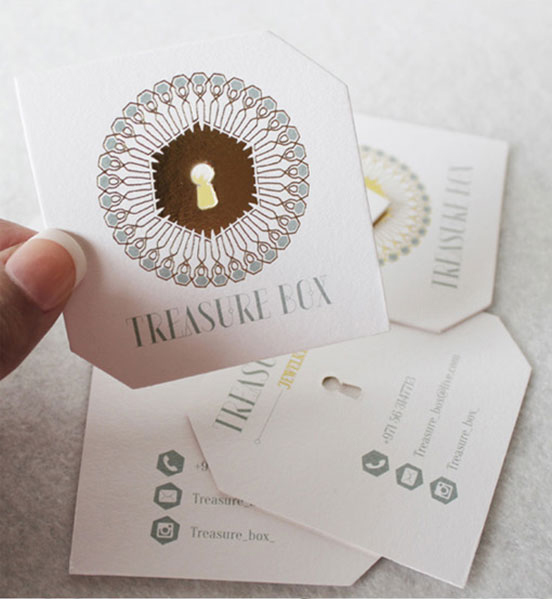 Foil Embossed Business Card