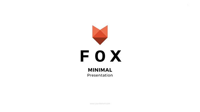 fox-minimal-googleslides