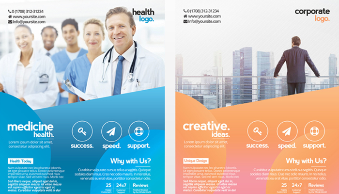 Free Business Flyer Templates For Photoshop  Mashtrelo
