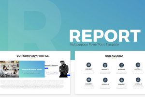 free company profile powerpoint templates