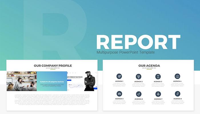 25 free company profile powerpoint templates for business, Presentation templates