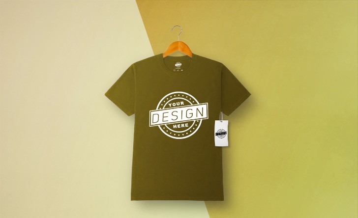 Free Download Tshirt Mockup
