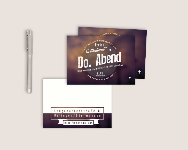 Free Invitation Card Flyer Mockup