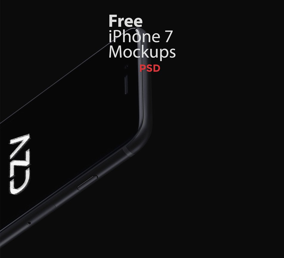 Free iPhone 7 mockups