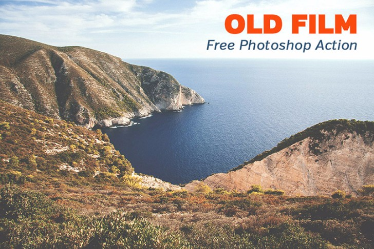 Free Old Film Photoshop Action