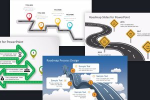 Free Project Roadmap Powerpoint Templates