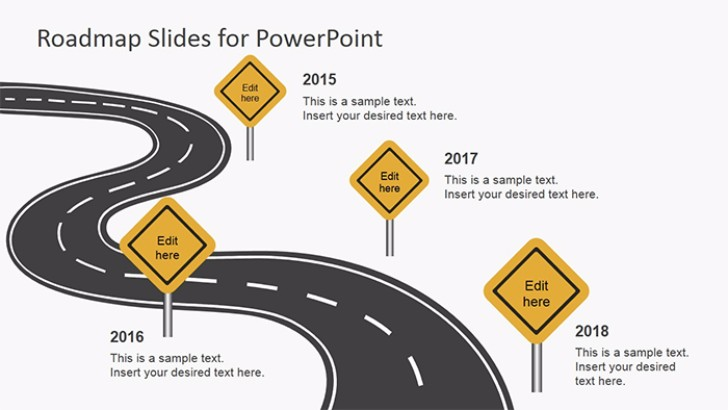 Free Roadmap Slides for PowerPoint
