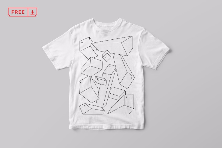 Free TShirt Mockup Download