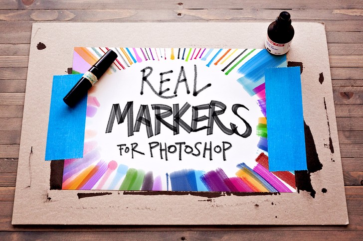 FREEBIES 12 REAL MARKERS ESSENTIALS