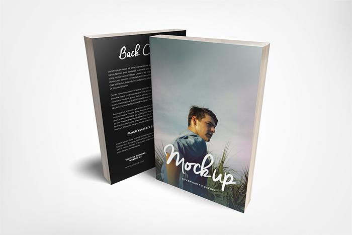 front-back-paperback-book