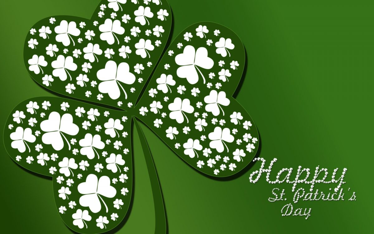 happy st patrick day wallpaper