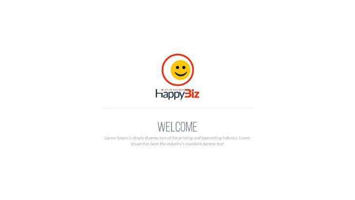 HappyBiz Multipurpose Business Template