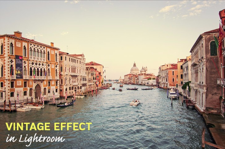 How to Create a Vintage Effect in Lightroom