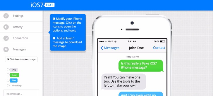 7 Websites to Create a Fake Text Message - Mashtrelo