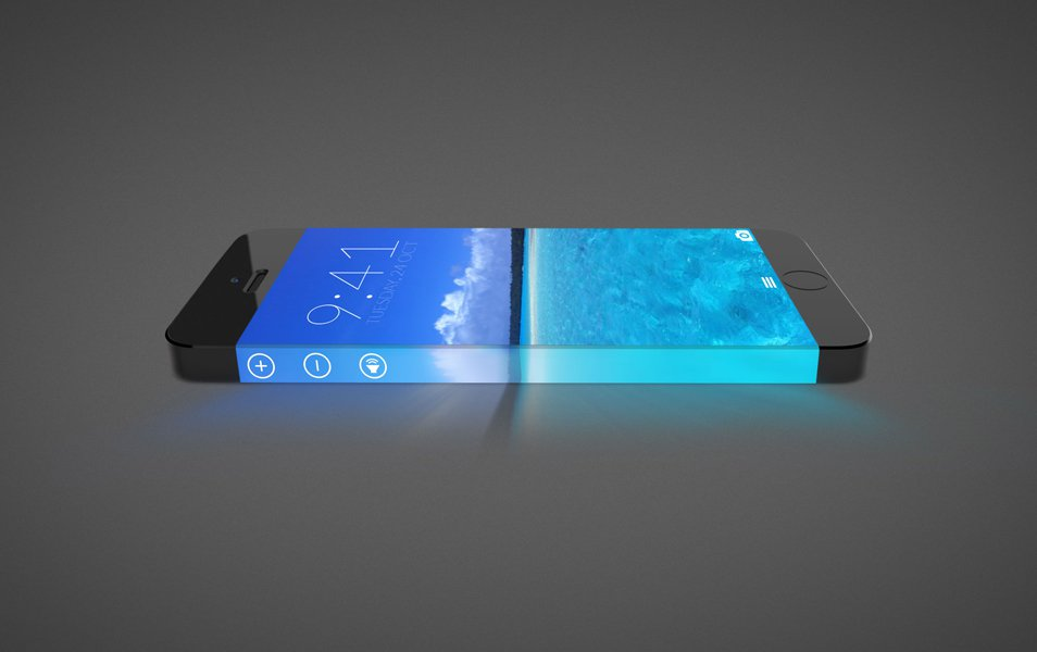 iPhone 7 Mockup Concept