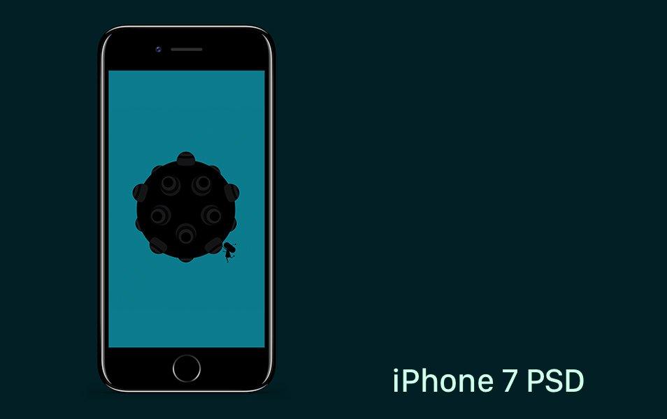 iPhone 7 PSD