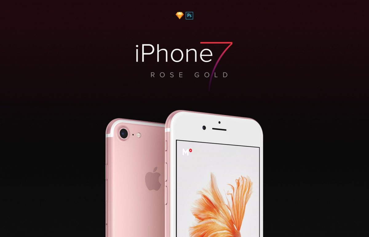 iPhone 7 Rose Gold FREEBIE