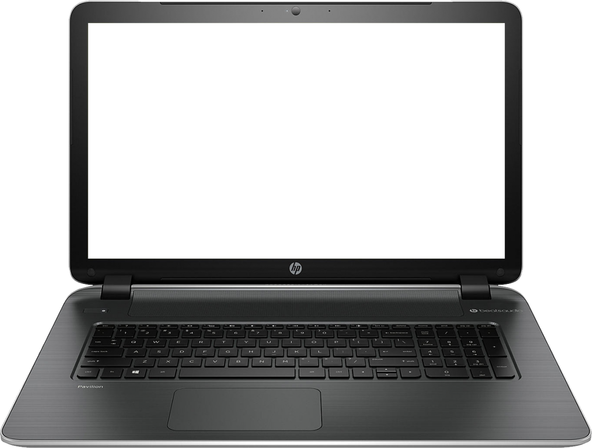 Laptop notebook PNG image image with transparent background 9