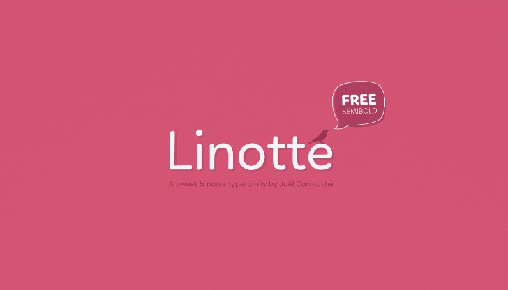 Linotte Typeface