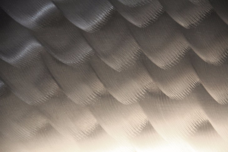 metal texture wave brush wallpaper stainless steel