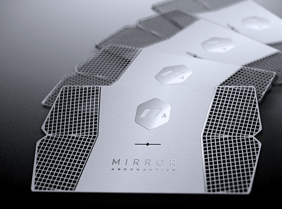 Mirror Aero Business Card
