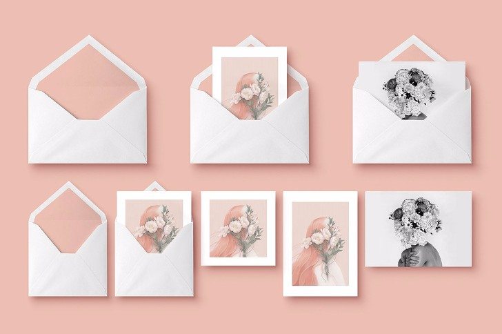 Mockup Greeting Cards Envelope