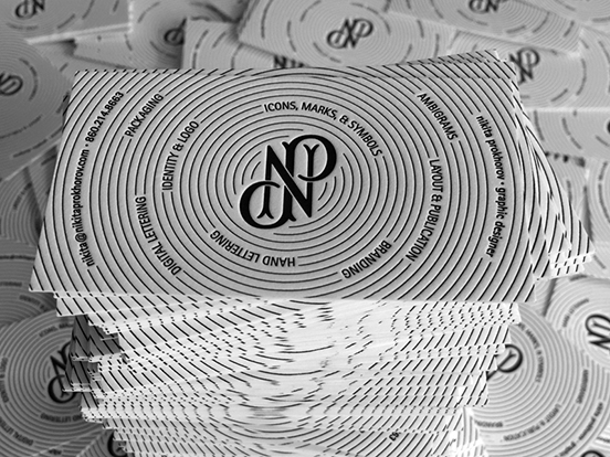 Nikita Prokhorov Business Cards
