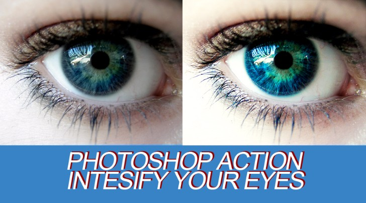 Photoshop Action Bright Eyes