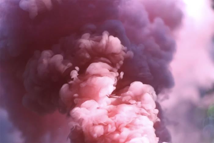 pink-smoke