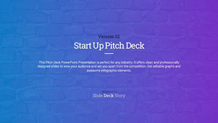 Pitch Deck Start Up Powerpoint