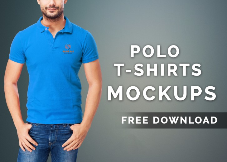 Polo Tshirts Mockup Free Download