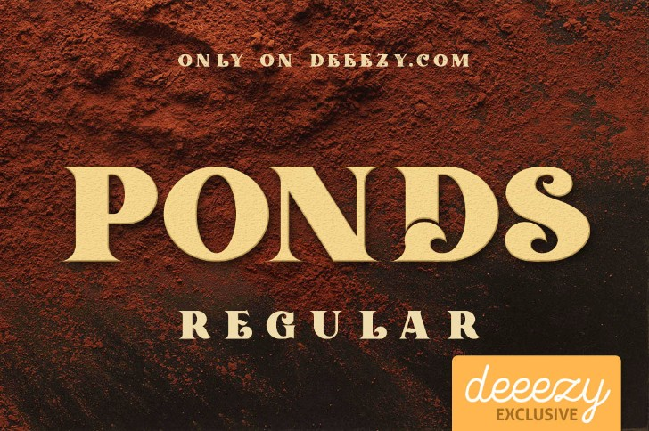 Ponds Regular
