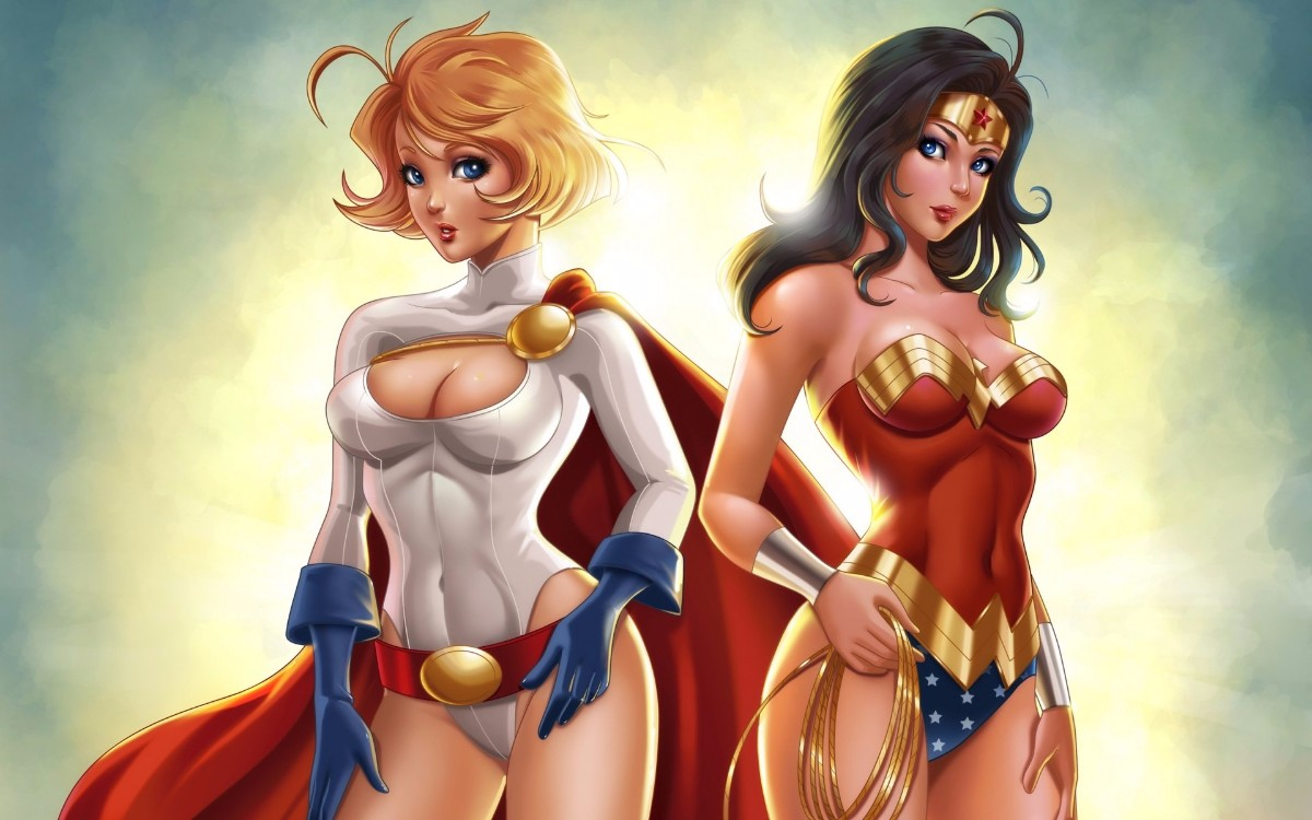 powergirl and worder woman