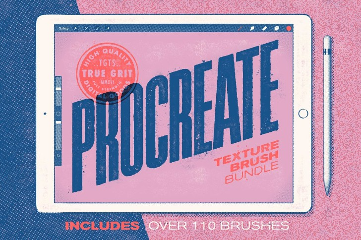 Procreate Texture Brush Bundle