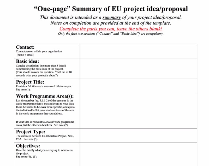 7 Free Project Proposal Templates For Any Projects
