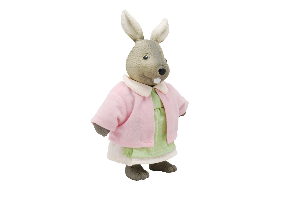 Rabbit Push Toy Pink