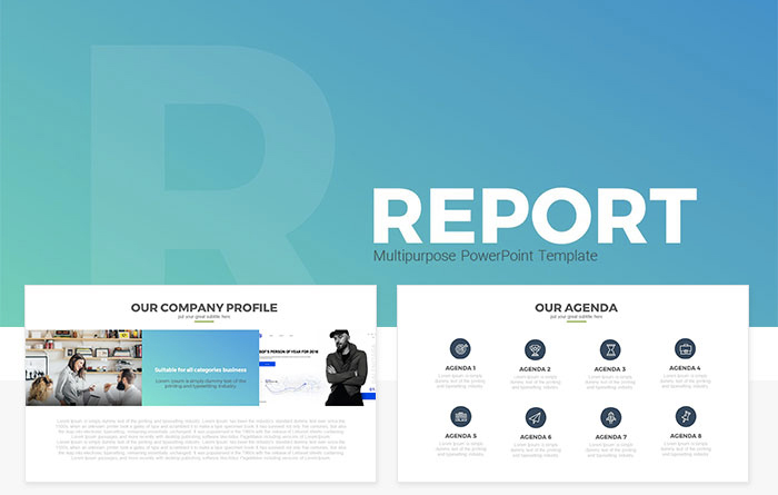27 free company profile powerpoint templates for presentations report multipurpose free powerpoint toneelgroepblik Images