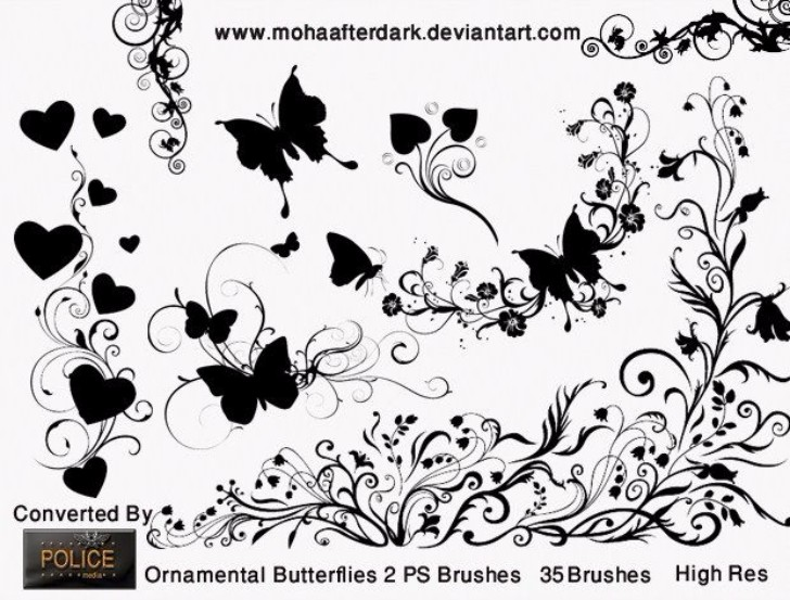 rnamental Butterflies 2