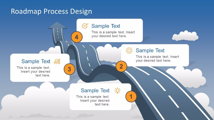 Free Project Roadmap Powerpoint Templates  Mashtrelo