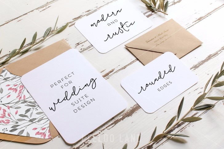 Rustic Wedding Suite Mockup Olive 3