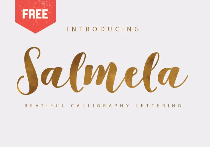 SALMELA CALLIGRAPHY FONT