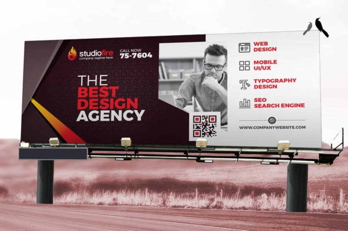 Signage Design Billboard Rollup Banner