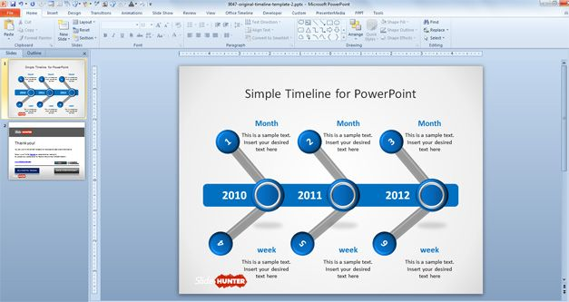 simple-timeline-powerpoint-template