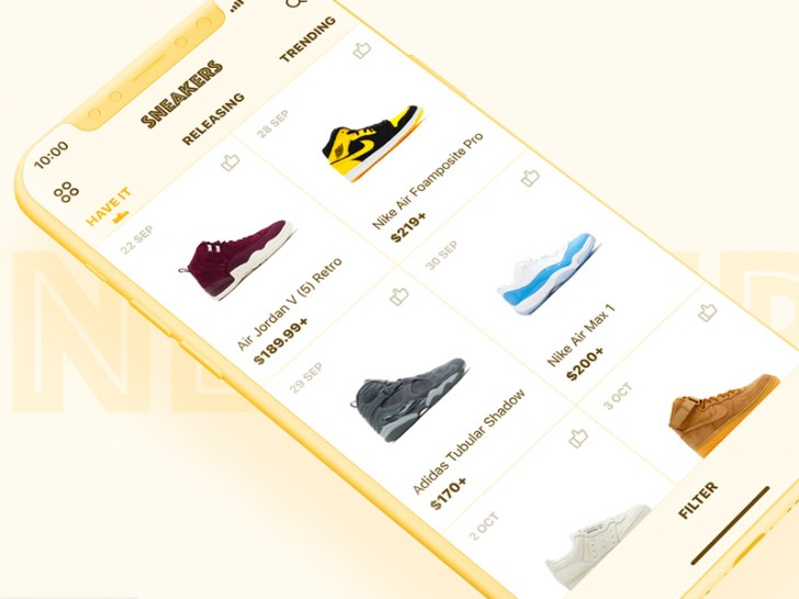 Sneakers Purchase View Sketch Resource