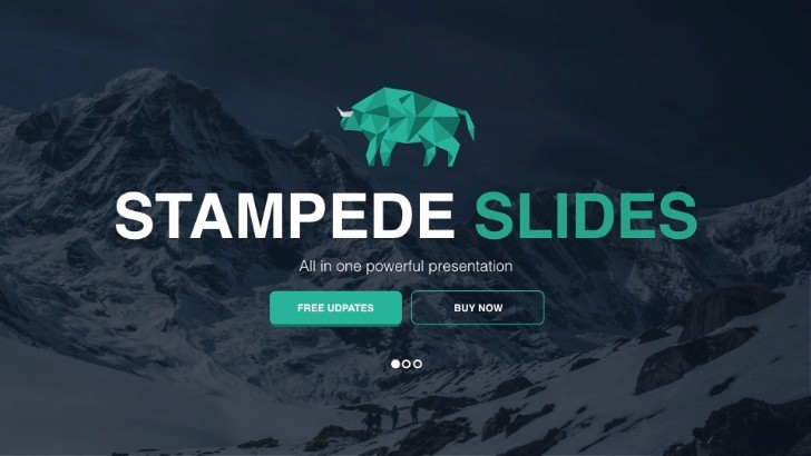 Stampede Multipurpose Powerpoint Template