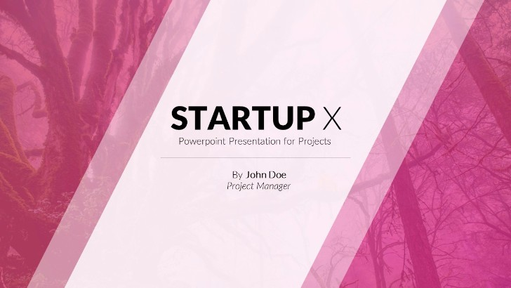 Startup X Perfect Pitch Deck