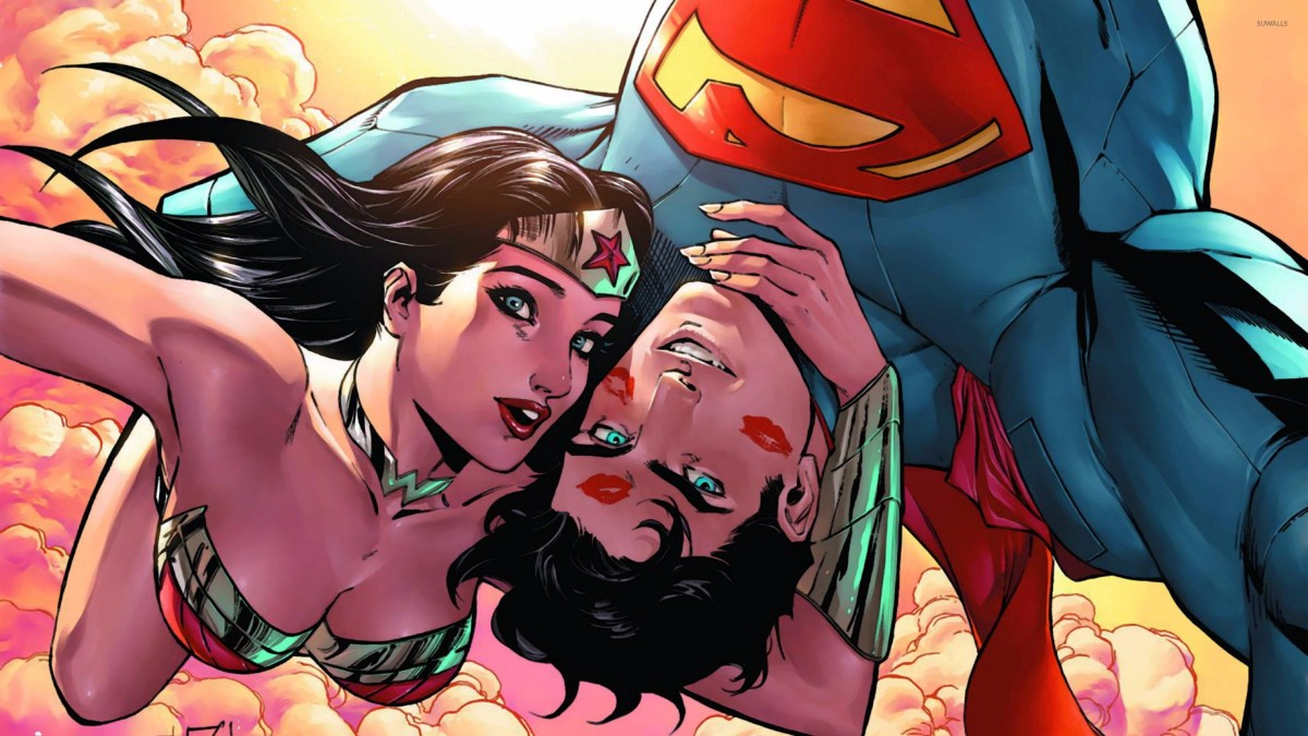 Superman and Wonder Woman