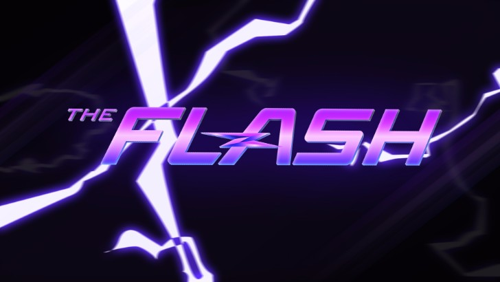 The Flash Logo Desktop Wallpaper